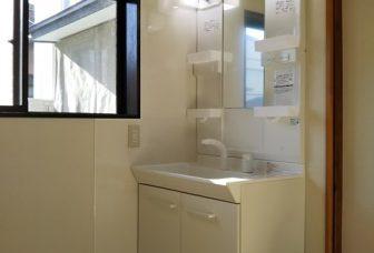 洗面室、トイレリフォーム、合併浄化槽埋設工事 大仙市O.Y様