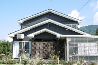 屋根塗装、外壁改装工事 湯沢市S様邸